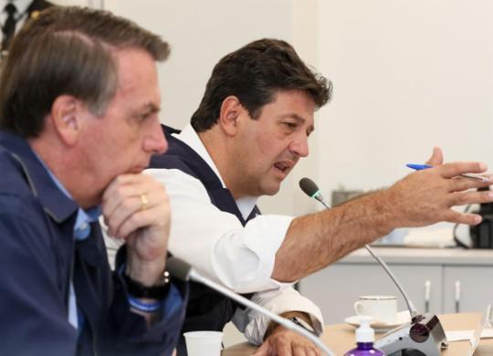 Maia sobre Mandetta: Bolsonaro não tem condições de demitir um ministro popular | Isac Nóbrega | PR