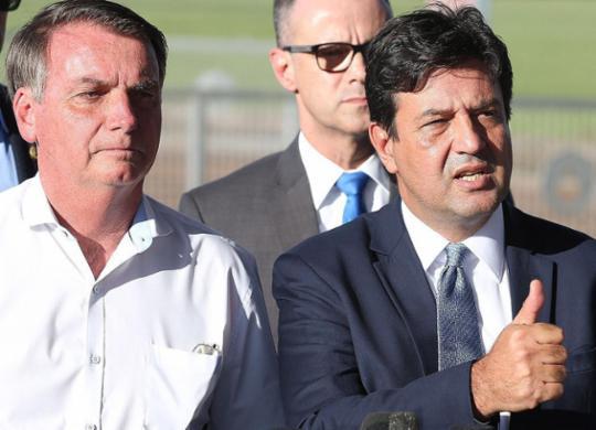 Bolsonaro mira longe ao atirar contra Mandetta, apontam cientistas políticos | Valter Campanato | Agência Brasil | 31.1.2020