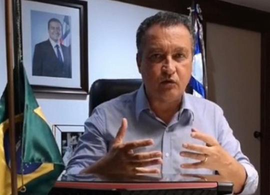 Em live, governador Rui Costa pede para que baianos não viajem no feriado | Reprodução | Facebook