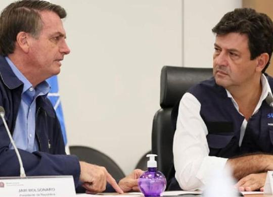 Bolsonaro mira longe ao atirar contra Mandetta, apontam cientistas políticos   Isaac Nóbrega   PR
