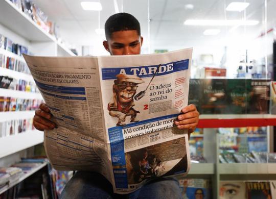 No Dia do Jornalista, o lado bom do corona: fake news perderam   Laryssa Machada   Ag. A TARDE   31.3.2020