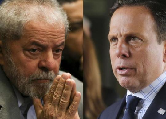 Lula e Dória trocam mensagens de apoio devido a crise de coronavírus | Marcelo Camargo e Valter Campanato | Agência Brasil | Montagem A TARDE