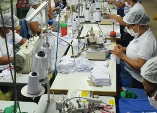 Hospitais recebem 61 mil itens de vestuário   Divulgação   Ascom-SDE