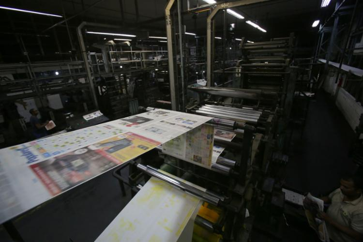 Nova estrutura foi criada para dar segurança aos trabalhadores sem comprometer qualidade dos conteúdos | Fotos Adilton Venegeroles | Ag. A TARDE - Foto: Adilton Venegeroles | Ag. A TARDE