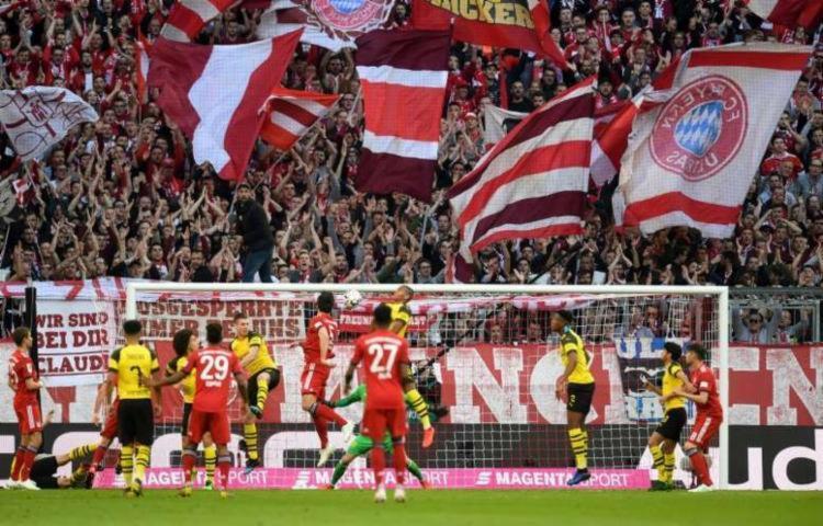O Campeonato Alemão, interrompido em meados de março, está suspenso até o dia 30 de abril | Foto: AFP - Foto: AFP