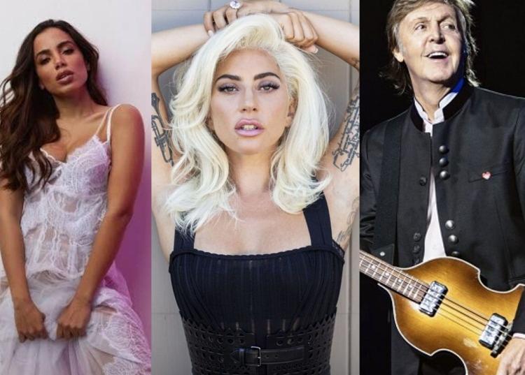 Festival possui curadoria de Lady Gaga e participação de grandes nomes da música como Paul McCartney; Anitta é única atração brasileira   Foto: Reprodução - Foto: Reprodução