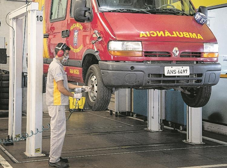 Renault e as concessionárias: manutenção de ambulâncias | Foto: Divulgação - Foto: Divulgação