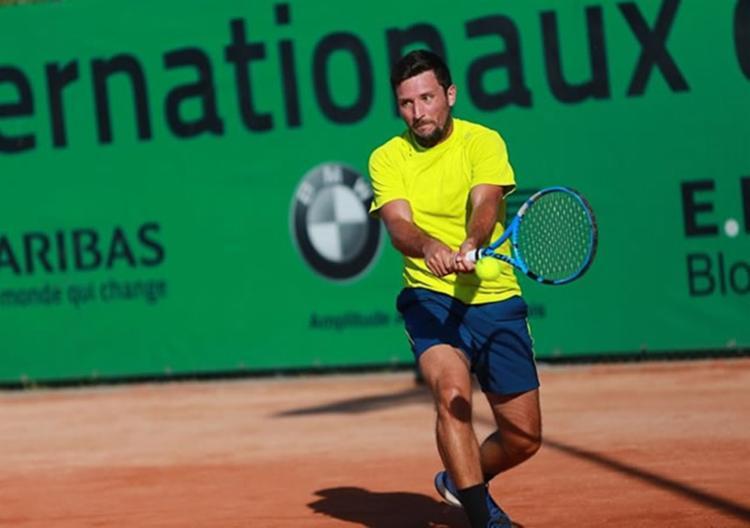 Barrientos ocupa a 776ª posição em simples e 257ª nas duplas no ranking da ATP   Foto: Divulgação   Fedecoltenis - Foto: ivulgação   Fedecoltenis