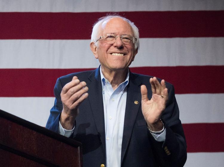 Senador de 78 anos concorria com Joe Biden nas prévias democratas   Foto: Mark Ralston   AFP - Foto: Mark Ralston   AFP