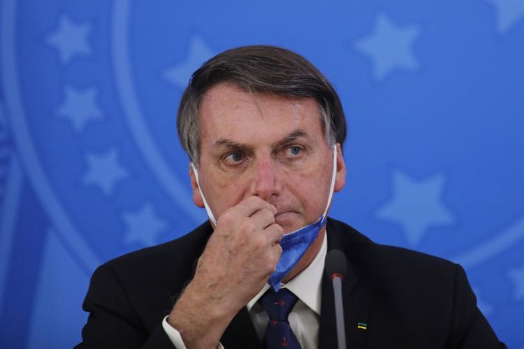 Cerca de 39% dos brasileiros desaprovam a maneira como Bolsonaro está gerenciando a crise | Foto: Sergio Lima | AFP - Foto: Sergio Lima | AFP