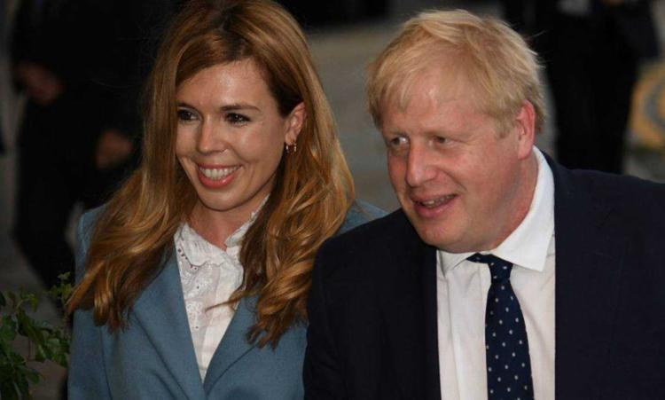 Companheira de Boris Johnson, Carrie Symonds, deu à luz um menino | Foto: Oli Scarff | AFP - Foto: Oli Scarff | AFP
