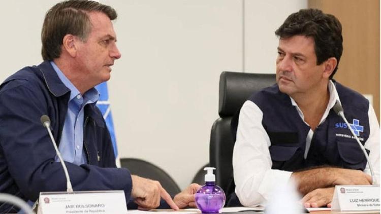 Presidente tem fritado ministro da Saúde há semanas | Foto: Isaac Nóbrega | PR - Foto: Isaac Nóbrega | PR