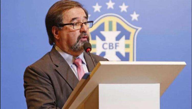 De acordo com o dirigente, o ideal é que o retorno das atividades futebolísticas aconteça de forma progressiva | Foto: Rafael Ribeiro | CBF - Foto: Rafael Ribeiro | CBF