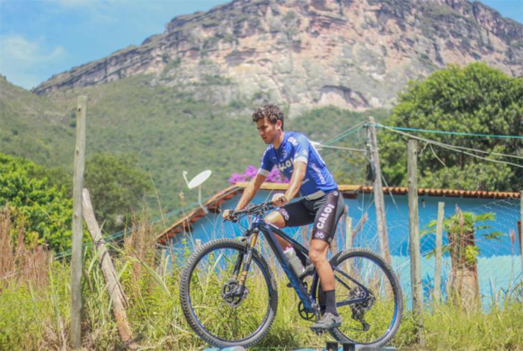 Treino no rolo para bicicleta tem vista inigualável   Foto: Wali Lima   Divulgação - Foto: Wali Lima   Divulgação