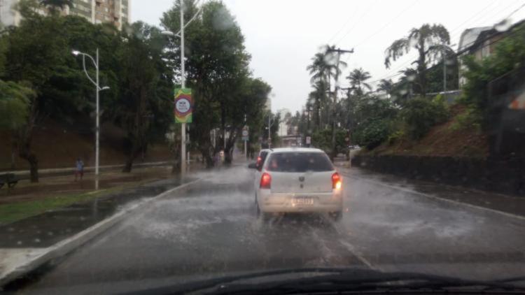 As chuvas do período ocorrem devido a frente fria sobre a região do Recôncavo baiano | Foto: Reprodução - Foto: Reprodução
