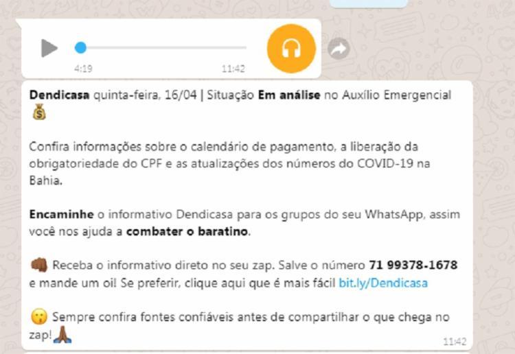 Noticiário segue a linguagem do Whatsapp através de emojis e gírias | Foto: Reprodução | Whatsapp
