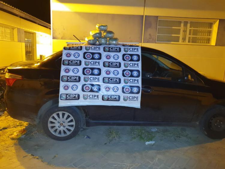 Flagrante foi realizado entre as cidades de Araci e Serrinha - Foto: Divulgação | SSP