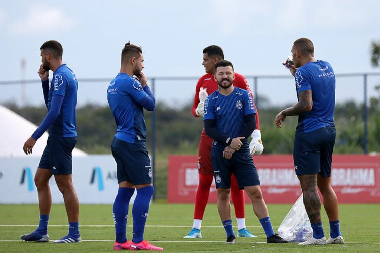 Jogadores devem se reapresentar no dia 1º de maio | Foto: Felipe Oliveira | EC Bahia - Foto: Felipe Oliveira | EC Bahia