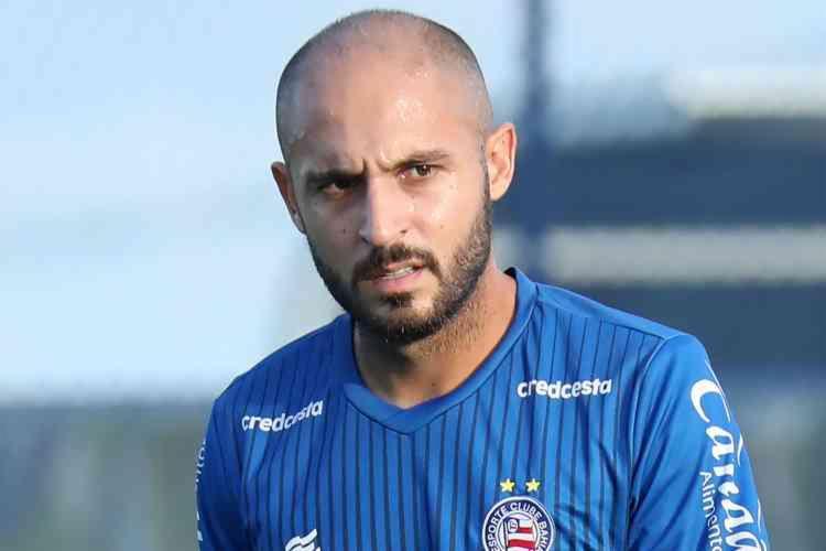 Ao todo, Régis disputou 120 jogos com a camisa do Bahia e marcou 23 gols | Foto: Felipe Oliveira | EC Bahia - Foto: Felipe Oliveira | EC Bahia