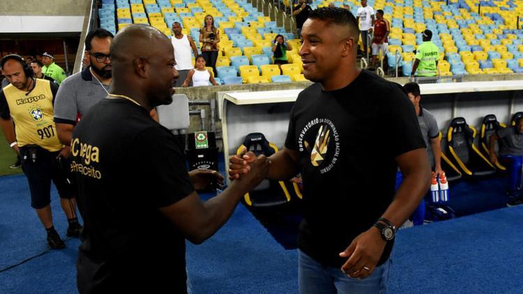 Roger Machado e Marcão | Foto: Mailson Santana | Fluminense FC