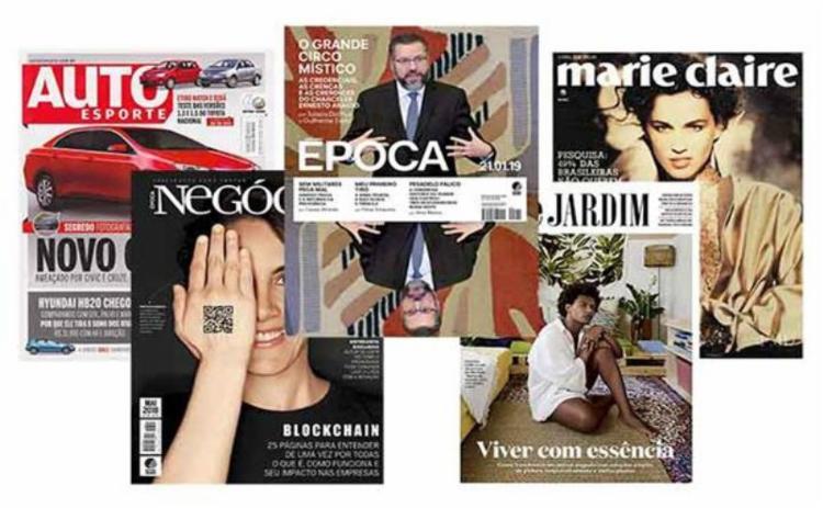 De maio a julho, apenas Época, Monet, Casa Vogue e Vogue mantêm a periodicidade normal das revistas impressas. - Foto: Reprodução