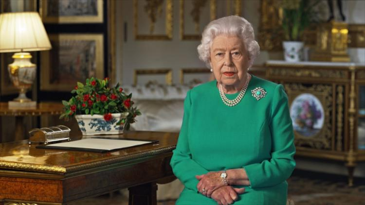 A mensagem foi a quarta em um momento de crise em seus 68 anos de reinado | Foto: Buckingham Palace | AFP - Foto: Buckingham Palace | AFP