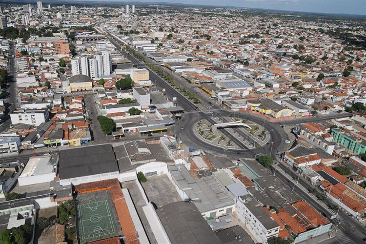 Vista aérea da cidade de Feira de Santana | Foto: ACM | Secom - Foto: ACM | Secom