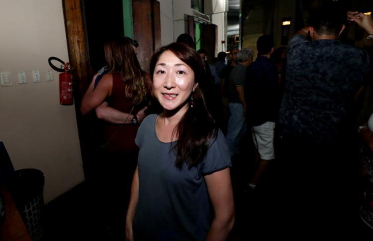 Kumiko Sukiyama veio a Salvador para conhecer o forró