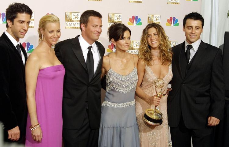 Astros da série durante premiação em 2002   Foto: Lee Celano   AFP - Foto: Lee Celano   AFP