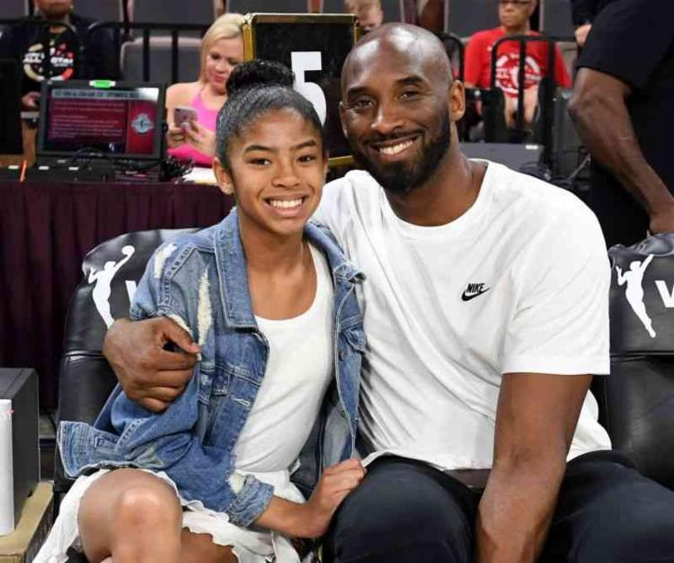 o gesto da WNBA foi uma homenagem simbólica após a morte de Gianna | Foto: Ethan Miller | AFP - Foto: Ethan Miller | AFP