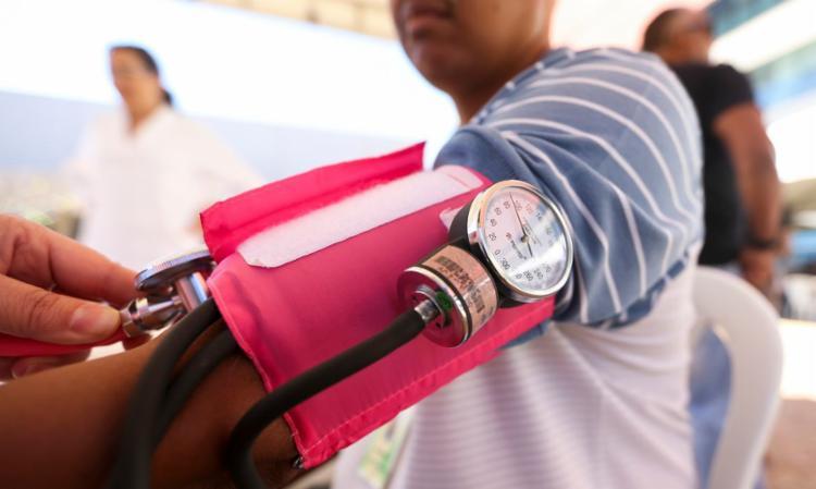 Pressão alta é fator de risco para pacientes com covid-19   Foto: Marcelo Camargo   Agência Brasil - Foto: Marcelo Camargo   Agência Brasil