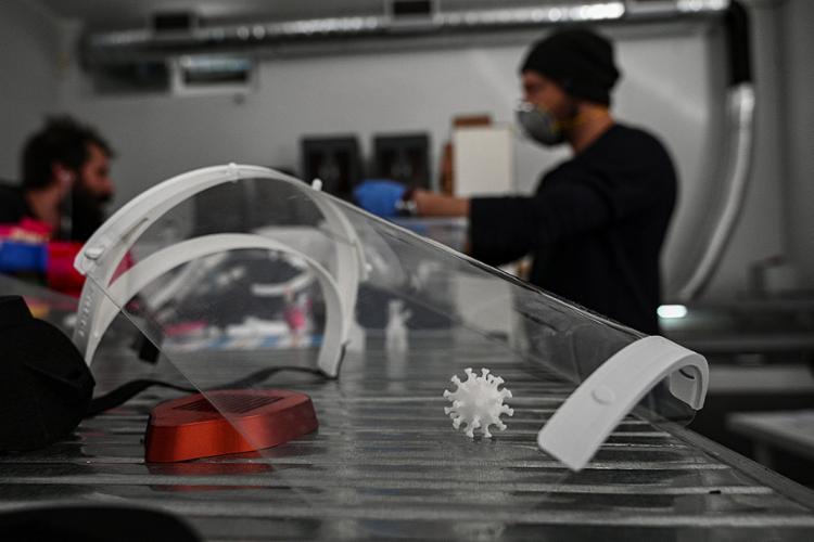 A impressão 3D é um processo de fabricação que surgiu na década de 1980 | Foto: Aris Messinsis | AFP - Foto: Aris Messinsis | AFP