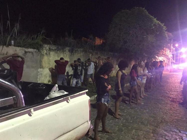 Destino dos jovens era festa denominada de Covidfest - Foto: Divulgação   PM