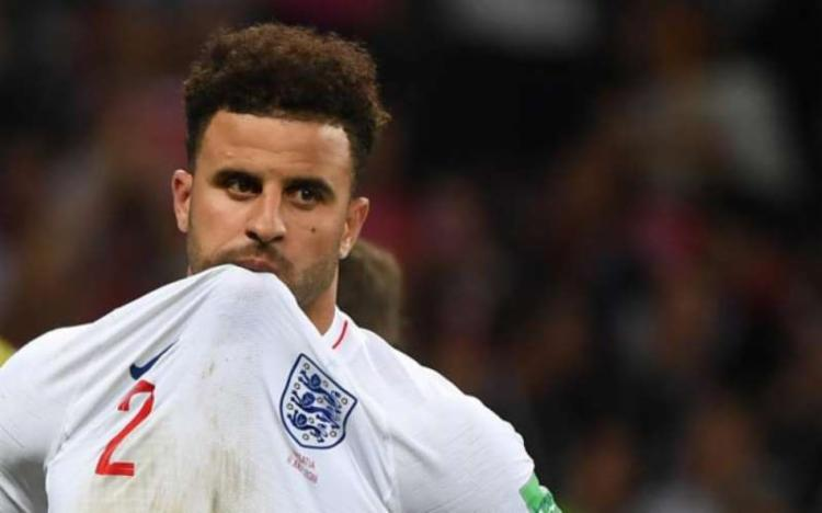 Walker disputou a Copa do Mundo de 2018, na Rússia, como titular absoluto na defesa de Southgate | Foto: Manan Vatsyayana | AFP - Foto: Manan Vatsyayana | AFP