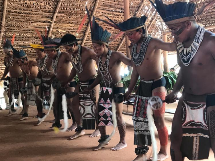 Uma das visitas é à uma aldeia indígena | Foto: Flavimir Guimarães | Divulgação
