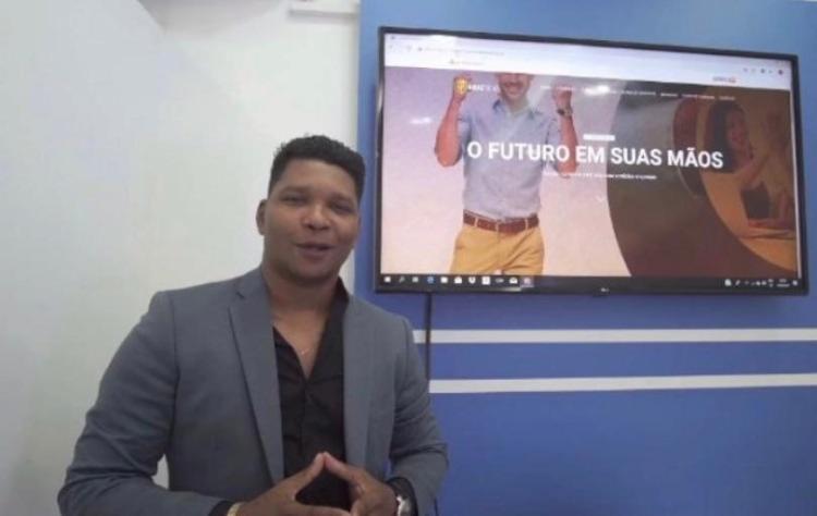 Deivanir Vieira Santos durante apresentação da empresa Midas Trend | Foto: Divulgação | Instagram - Foto: Divulgação | Instagram