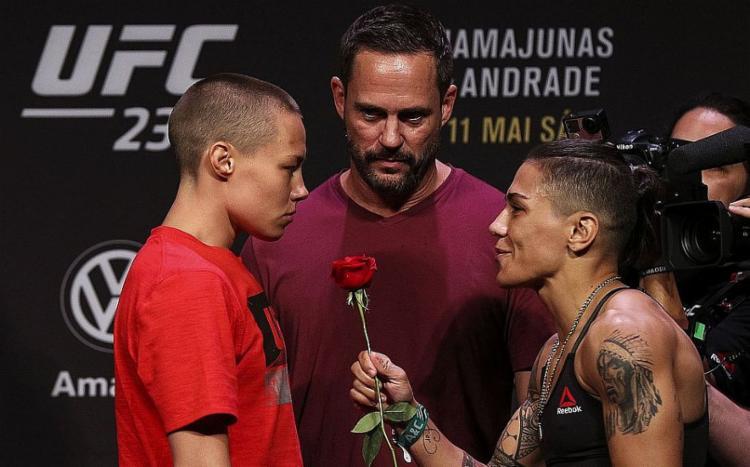 As duas lutadores haviam se enfrentado em 2019, pelo UFC 237, com vitória da brasileira   Foto: Divulgação   UFC - Foto: Divulgação   UFC