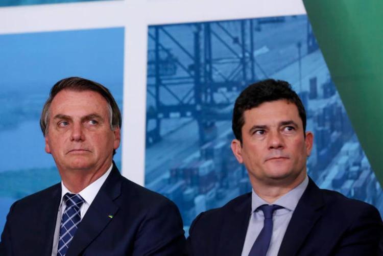 Ele questionou as acusações feitas por Sérgio Moro sobre interferência política de Bolsonaro na Polícia Federal   Foto: Carolina Antunes   PR - Foto: Carolina Antunes   PR