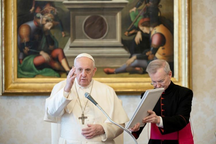 Mudança ocorre por conta da pandemia | Foto: Vatican Media | AFP - Foto: Vatican Media | AFP