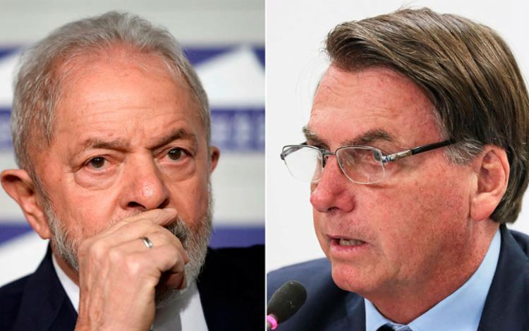 Brasil passou do período de 'Lula Livre' para o do 'mito' | Fotos: Fabrice Coffrini | AFP e Isac Nóbrega | PR - Foto: Fabrice Coffrini | AFP e Isac Nóbrega | PR