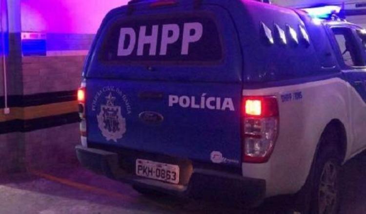 A dupla de suspeitos foi encaminhada para a DHPP | Foto: Divulgação | Polícia Civil - Foto: Divulgação | Polícia Civil