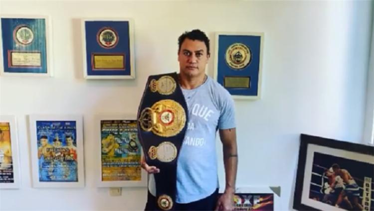 Popó foi campeão pela Associação Mundial de Boxe (WBA), em janeiro de 2002, ao derrotar o cubano Joel Casamayor   Foto: Reprodução   Instagram - Foto: Reprodução   Instagram