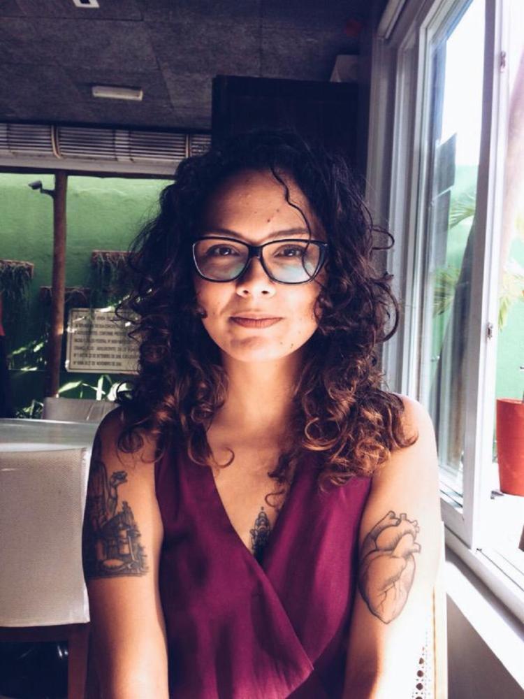 Carol Morena é a curadora do evento | Foto: Carol Morena | Arquivo Pessoal