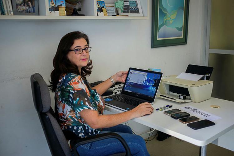 Luciana diz que só 10% dos clientes do Planeta Festa cancelaram | Foto: Shai Andrade | Ag. A TARDE - Foto: Shai Andrade | Ag. A TARDE