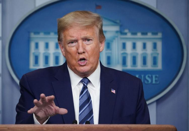 Presidente argumentou que busca com a decisão proteger os postos de trabalho dos cidadãos americanos   Foto: Mandel Ngan   AFP - Foto: Mandel Ngan   AFP