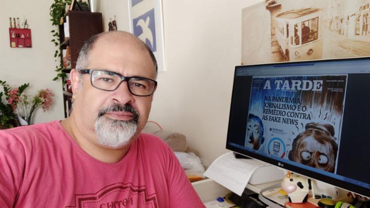 Vado Alves, coordenador da editoria de arte: