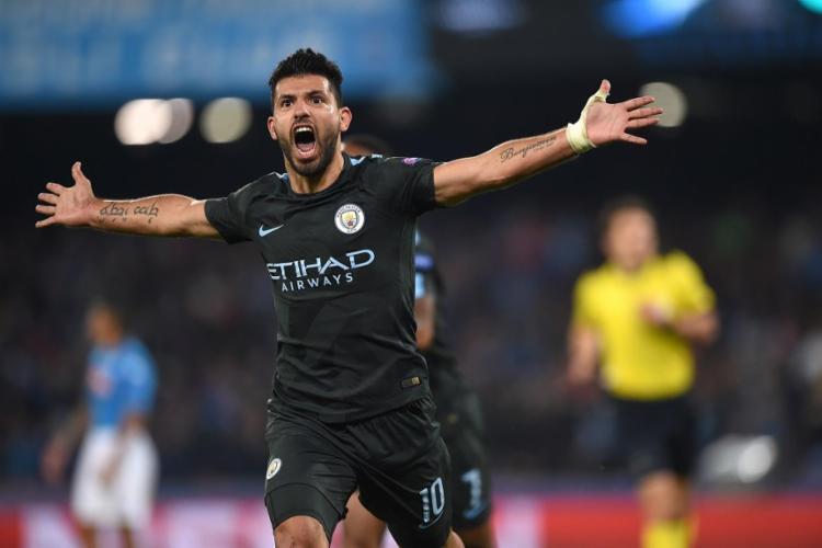 Aguero relatou que a maioria dos jogadores temem o reinício da competição | Foto: Filippo Monteforte | AFP - Foto: Filippo Monteforte | AFP