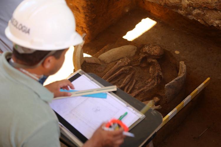 Urna é o primeiro indício da tribo tupi-guarani descoberto em Salvador   Foto: Divulgação   Secom - Foto: Divulgação   Secom