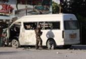 Funcionários de canal de TV morrem em atentado na capital afegã | Foto: STR | AFP