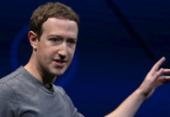 Zuckerberg defende que Facebook tenha retirado conteúdo falso de Bolsonaro | Foto: Arquivo | AFP
